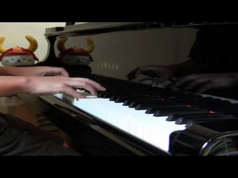楽譜は、kmpの「ピアノ・ピース[思い出のマーニー]より」の ものを使いました。幻想的な響きで始まり、後半は左手の動 きのある重音がな...