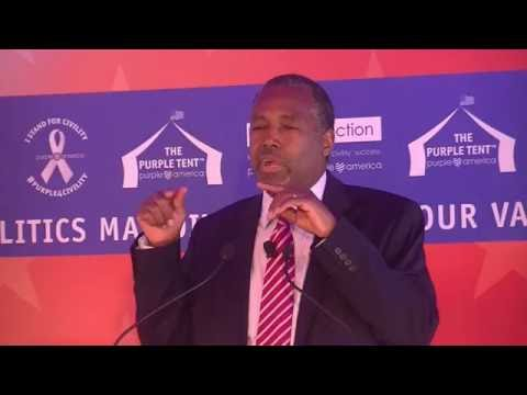 Dr. Ben Carson in the Purple Tent – Terror & Division
