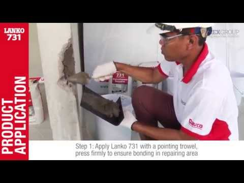 EN)LANKO 731 High compressive repairing non-shrink grout