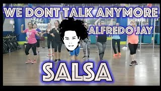 We Don't Talk Anymore Salsa | Mandinga | Zumba® | Alfredo Jay