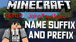 ✔ HOW TO ADD A PREFIX AND SUFFIX NAMES / RANKS IN MINECRAFT 1.12 ?!? A | [NBT EXPLORER SERIES] (EP3)