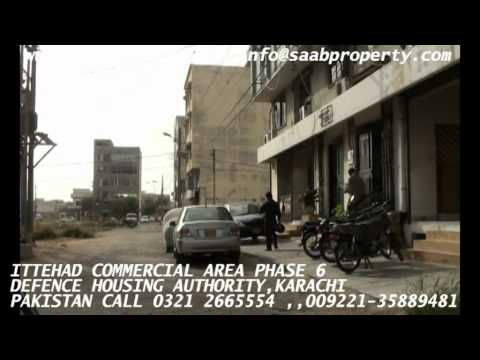 ITTEHAD COMMERCIAL AREA, PHASE 6, DHA KARACHI PAKISTAN defence housing authority realestate