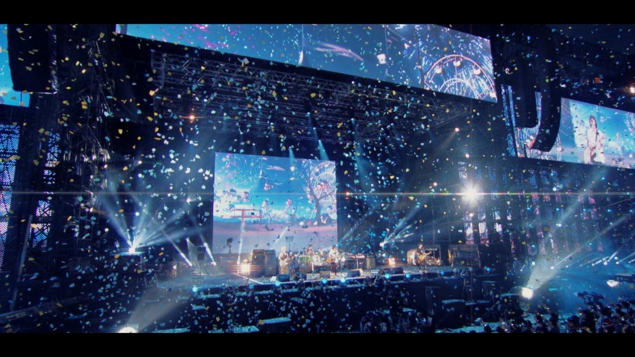 Bump Of Chicken「go」live Mv From Bd Dvd「stadium Tour 2016 Quot Bfly Quot Nissan Stadium 2016 7 16 17