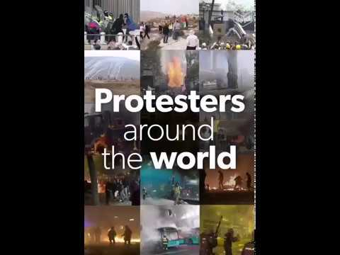 """Protests Take Over The World """"When Injustice Becomes Law, Resistance Becomes Duty."""""""
