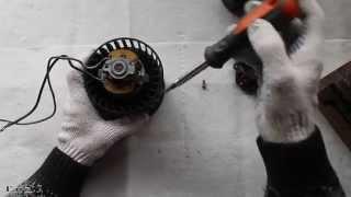 видео Ваз 2110: замена моторчика печки своими руками