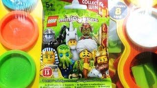 LEGO Minifigures Toys unboxing!!! 레고 미니 피규어 장난감 언박싱 라임튜브