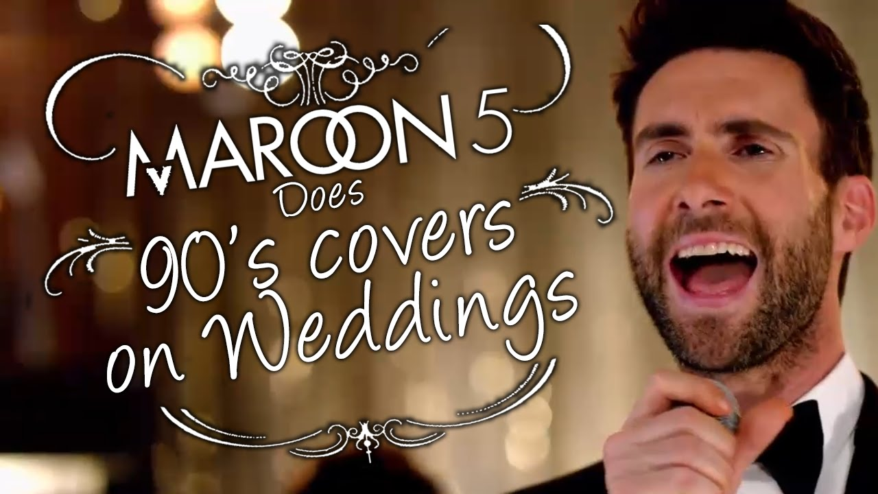 Maroon 5 - Sugar Parody: Playing 90s covers on weddings!