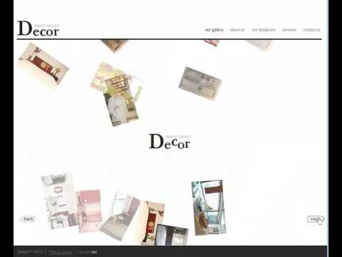 Flash website sample - A-Web-Designers.co.uk