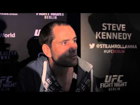 UFC Berlin media scrum || Steven Kennedy