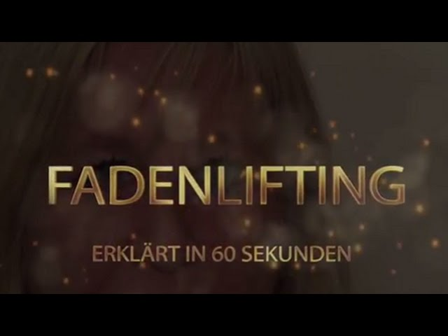 Fadenlifting bei Medical Beauty Praxis