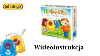 Jak grać? | EkoBohater - wydawnictwo Adamigo | Wideoinstrukcja