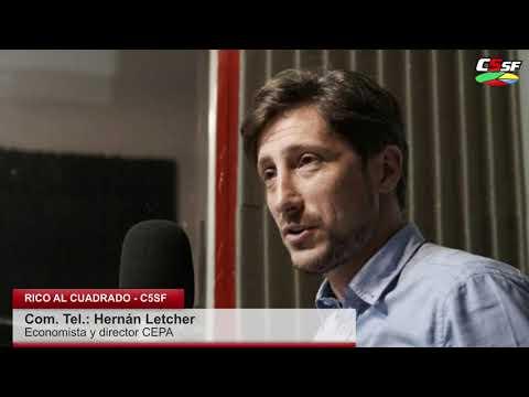 Letcher: Se descontaba que el FMI no iba a poner la plata