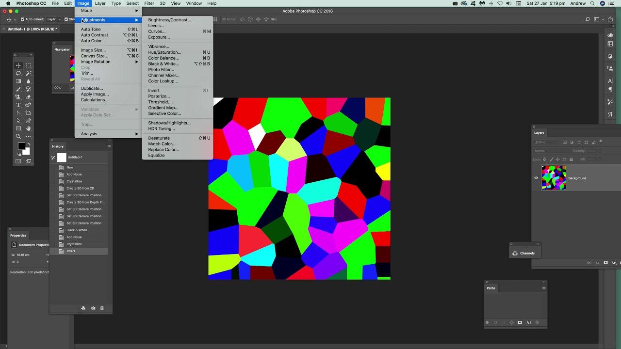 Create Voronoi Designs In Photoshop Tutorial