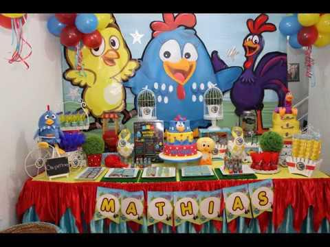 La Gallina Pintadita Show Infantil Y Decoracion Tematica Youtube