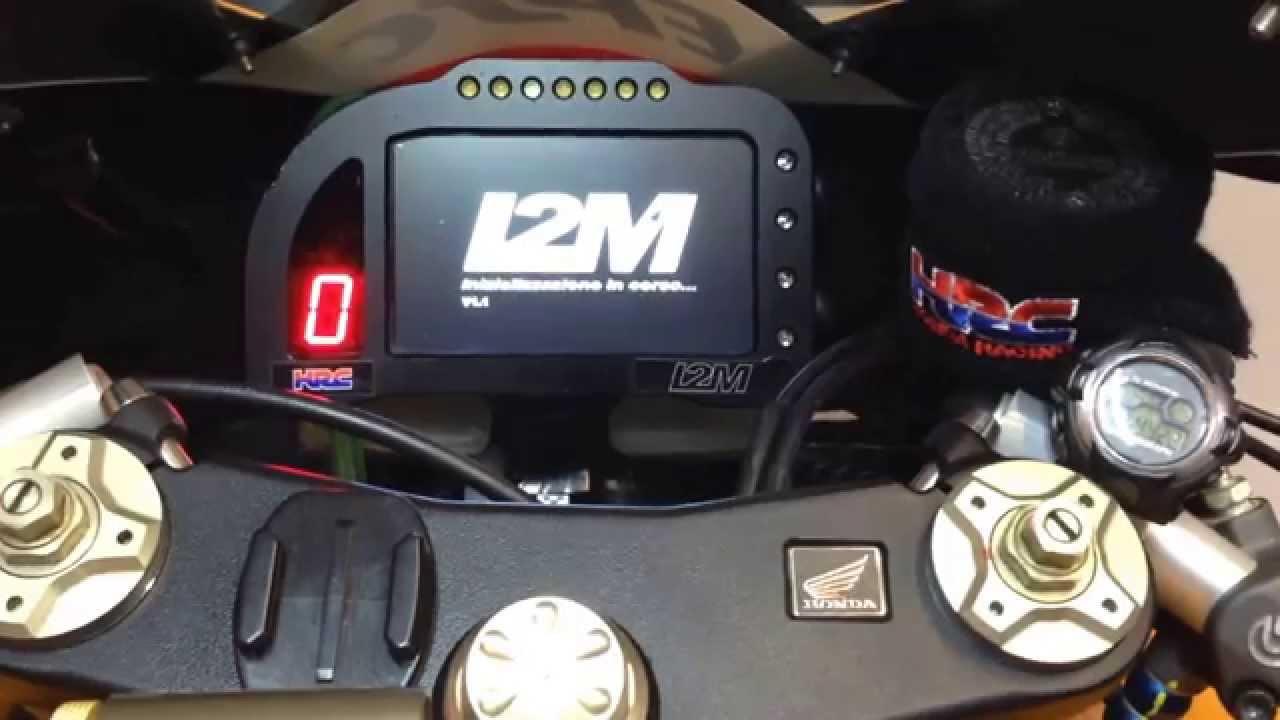 I2m Dashboard Honda Cbr600rr Supersport Youtube