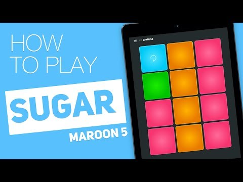 Thumbnail: How to play: SUGAR (Maroon 5) - SUPER PADS - Surprise Kit