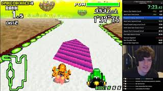 F-Zero: Maximum Velocity speedrun in 55:05