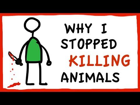Why I Stopped Killing Animals