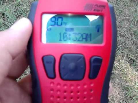 NOAA weather radio EAS#18 from St.Joseph, MI