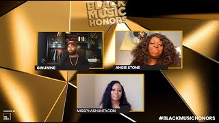2021 Black Music Honors: Honorees Angie Stone and Ginuwine Interview With PhaShunta