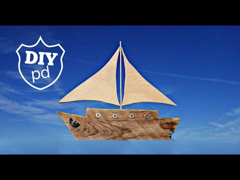 Bits & Bobs Sailboat Decorative Idea | DIY Decor Ideas