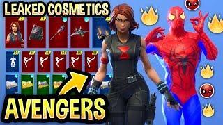 new all leaked fortnite skins emotes avenger skins - neue fortnite skins avengers