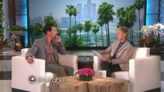 Benedict Cumberbatch Talks Baby Names and Photobombs With Ellen DeGeneres