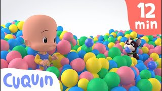 Cuquin's ball ⚽ and more educational videos | videos & cartoons for babies