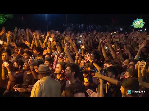 "Sachin Jigar live Concert at "" Marwadi University"""