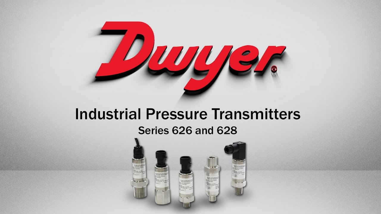 Industrial Pressure Transmitters: Series 626 and 628 - YouTube