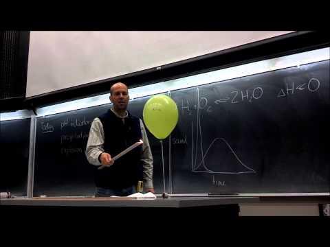 Hydrogen/Oxygen Balloon Explosions