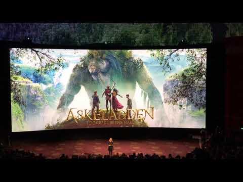 Åpning av nye Colosseum kino i Oslo
