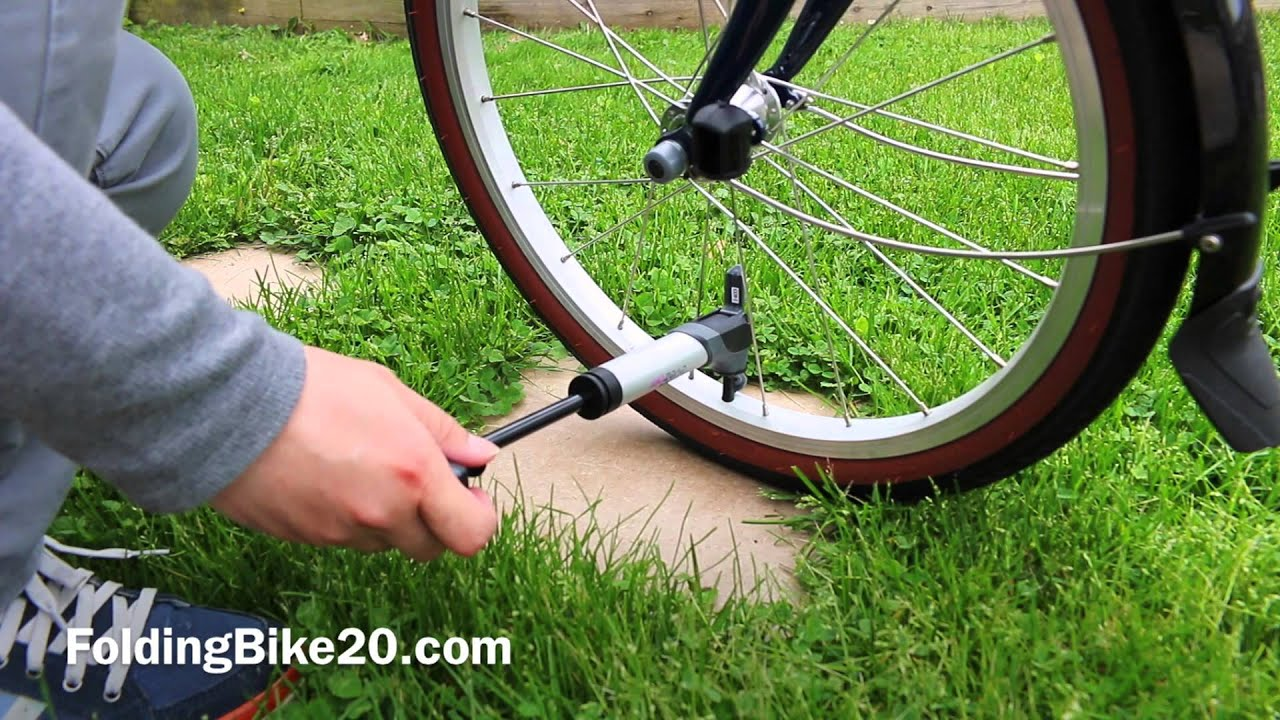 w//mounting Bracket Black//Red Aluminium EyezOff GP96 Alloy Mini Bike Pump