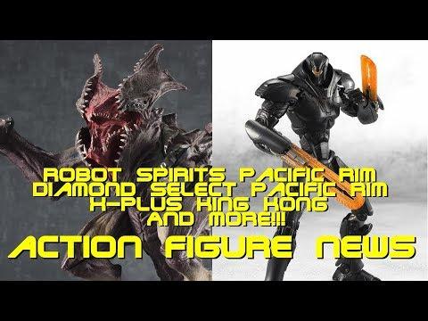 Robot Spirits Pacific Rim: Uprising, Sofvi Sprits Raijin , Diamond Select, NYCC - Action Figure News