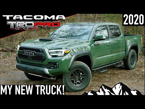MY NEW TRUCK!  2020 Toyota Tacoma TRD Pro ARMY GREEN (6-Speed Manual)