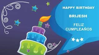 Brijesh - Card Tarjeta_1934 - Happy Birthday