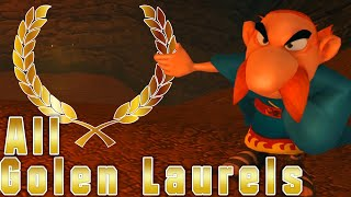 Asterix & Obelix XXL Romastered | All Golen Laurels Locations