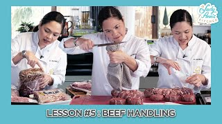 Lesson 5 : BEEF HANDLING & FABRICATION | Judy Ann's Kitchen