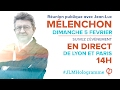 EN DIRECT - MÉLENCHON : Double meeting à Lyon et Paris #JLMHologramme