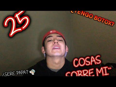 25 COSAS SOBRE MI ¿SERE PAPA?//ADRIAN RAMIREZ