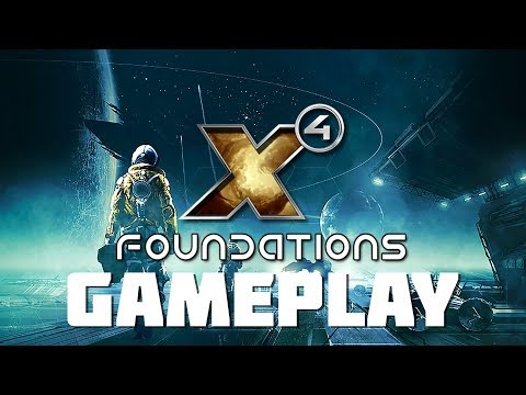 X4: Foundations - Pre-Release Gameplay - Ships, Trading, Exploration, Mining