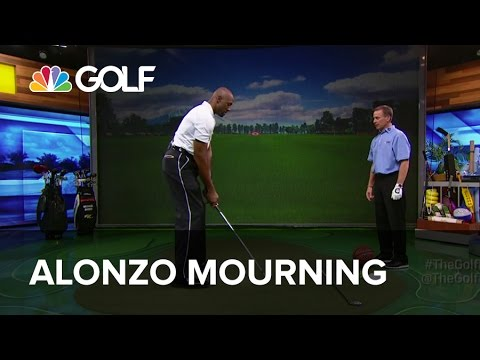 Alonzo Mourning Swing Drills - The Golf Fix | Golf Channel