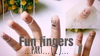 Fun fingers 2/ WHAT TO DO ON A BORING DAY/26 FUN ART IDEAS AND DOODLES