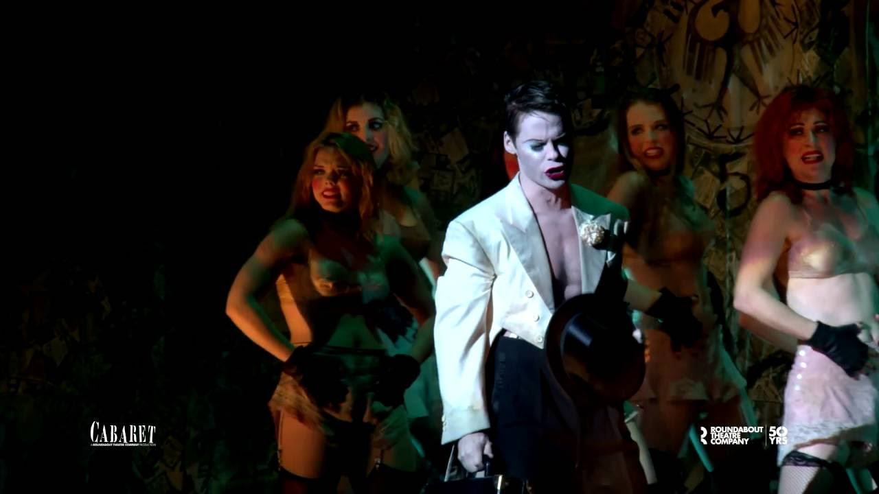 randy harrison is the emcee in cabaret july 19 august 7
