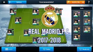 How To Hack Real Madrid 2018 Dream League Soccer 2018 Save Data 100 Powers