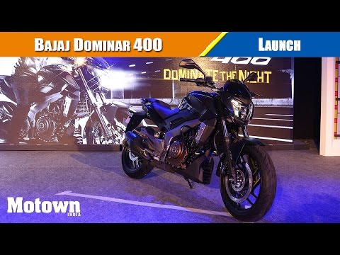 Launch of Bajaj Dominar 400 in New Delhi