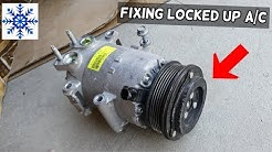 FIXING LOCKED UP AC COMPRESSOR