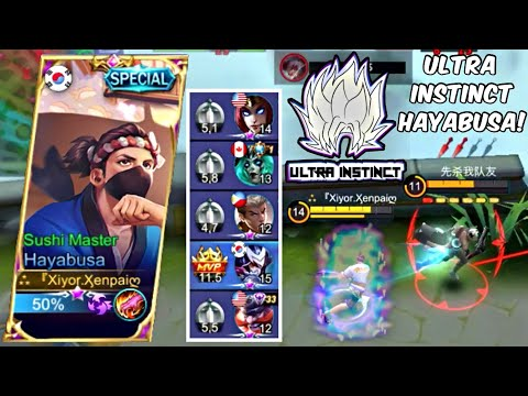 This Team Is Heavy, Guess I'll Go Ultra Instinct Mode With Hayabusa! - Mobile Legends