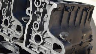 видео Блок Цилиндров Двигателя (двигатели (двс), детали двс.). Купить б/у запчасти для грузовиков