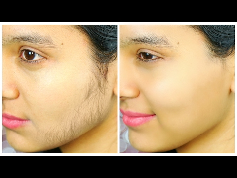 Remove Facial Hair PERMANENTLY - Ubtan Face Pack | PrettyPriyaTV